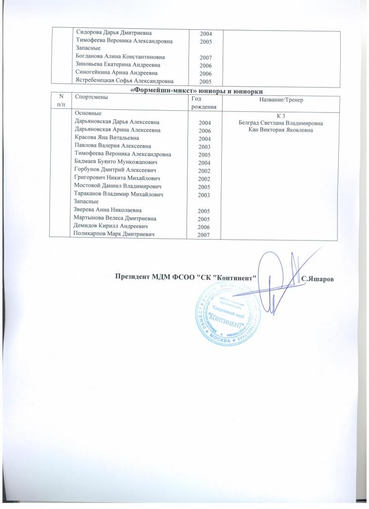 СК Континент заявка на ВС Ростов-на-Дону стр 2